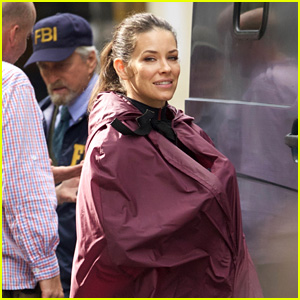 Evangeline Lilly Keeps Her 'Ant-Man & the Wasp' Costume Under Wraps!