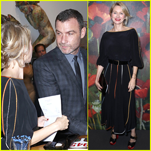 Exes Liev Schreiber & Naomi Watts Reunite at NYC Event