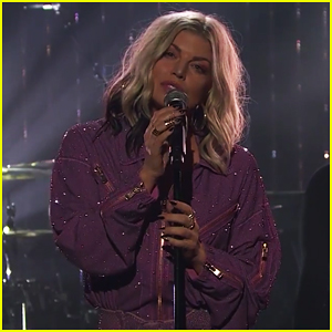 Fergie Performs New Single 'A Little Work' on 'Late Late Show' - Watch Here!