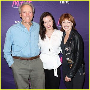 Francesca Eastwood Gets Support from Father Clint at 'M.F.A.' Premiere - Watch Trailer!