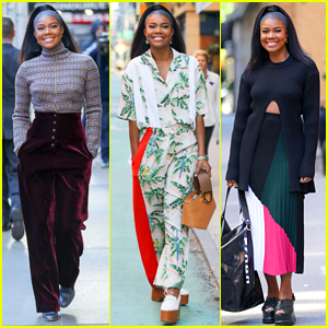 Gabrielle Union Slays the Fashion Game in NYC!