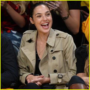 Gal Gadot Runs Into a 'Black-ish' Star at Lakers-Clippers Game