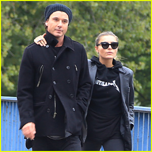 Gavin Rossdale's Girlfriend Sophia Thomalla Joined Him on Tour