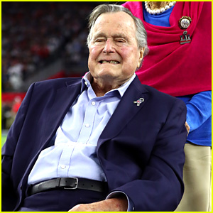 George H.W. Bush Apologizes for 'Patting Women's Rears' While Taking Photos - Read the Statement