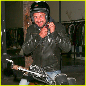 Gerard Butler Hospitalized After Motorcycle Accident in L.A.