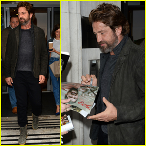 Gerard Butler Wants a Family in the Next Five Years!