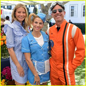 Gwyneth Paltrow, Jessica & Jerry Seinfeld Get Spooky at Good+ Foundation Halloween Bash!