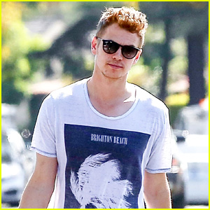 Newly Single Hayden Christensen Steps Out for a Lunch Run