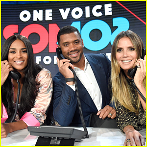 Heidi Klum Teams Up with Ciara & Russell Wilson for 'Somos: Una Voz' Puerto Rico Benefit