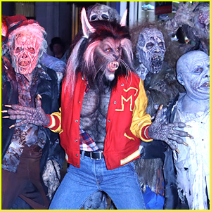 Heidi Klum Transforms Into 'Thriller' Werewolf for Halloween 2017!