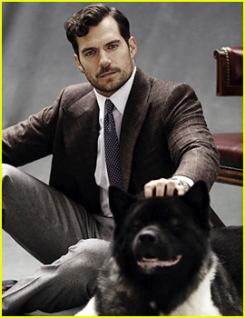 Henry Cavill's Dog Kal Makes Cameo in 'The Rake' Shoot!