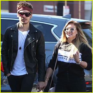 Hilary Duff & On-Again Boyfriend Matthew Koma Hold Hands in Studio City!