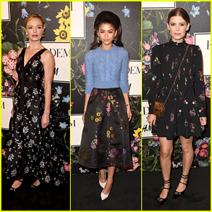 Kate Bosworth, Zendaya, Kate Mara & More Stars Celebrate at H&M x Erdem Runway Show & Party!