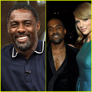 Idris Elba Says Met Gala Was Awkward Because of Taylor Swift & Kanye West's 'Beef'
