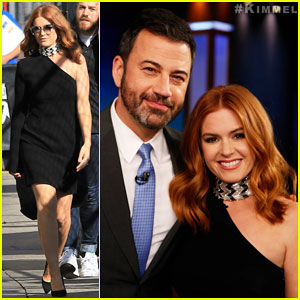 Isla Fisher Delivers Hilarious 'I'm Not Amy Adams' PSA on 'Jimmy Kimmel Live' - Watch Here!
