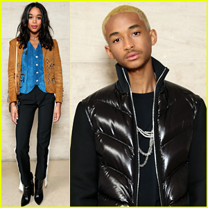 Jaden Smith Is the Man in Black at Louis Vuitton's Paris Show