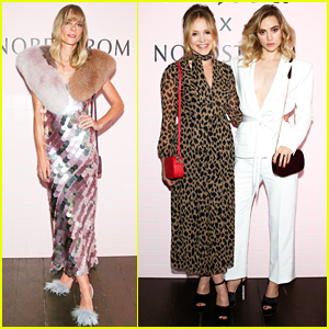 Jaime King Supports Suki Waterhouse & Poppy Jamie at Pop & Suki x Nordstrom Launch