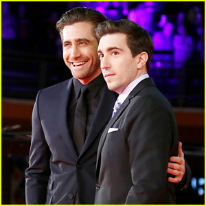 Jake Gyllenhaal Joins Jeff Bauman at 'Stronger' Premiere in Rome!