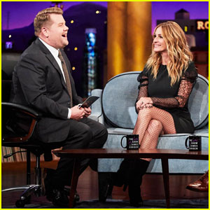 James Corden Has Revealing Nickname for Julia Roberts' Husband Daniel Moder - Watch Here!