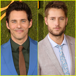 James Marsden & Justin Hartley Suit Up for Veuve Clicquot Polo Classic