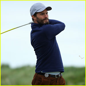 Jamie Dornan's Fan Got His Attention in a Very Funny Way on the Golf Course!