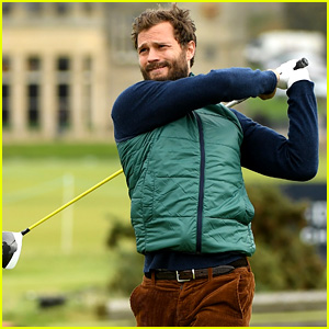 Jamie Dornan Plays a Round of Golf for Alfred Dunhill Links Championship!