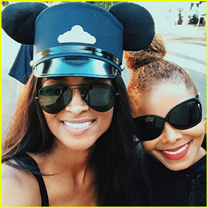 Ciara & Janet Jackson Spend the Day at Disneyland Together!