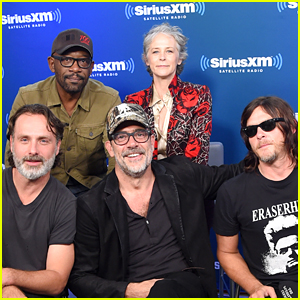 Jeffrey Dean Morgan & Norman Reedus Join 'Walking Dead' Cast at NYC Comic Con!