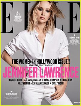 Jennifer Lawrence Is One of Elle's Women in Hollywood 2017!