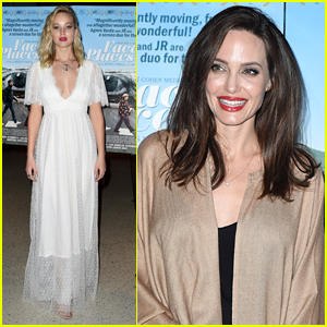 Jennifer Lawrence Joins Angelina Jolie at 'Faces Places' Premiere in WeHo