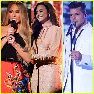 Jennifer Lopez Hosts Star-Studded 'Somos: Una Voz' Benefit for Puerto Rico Hurricane Relief Efforts