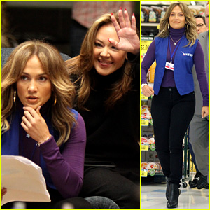 Jennifer Lopez & Leah Remini Begin Filming 'Second Act'