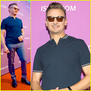 Jeremy Renner Donates $20,000 to Driscoll Children's Hospital After Attending Isina Globa Gala!