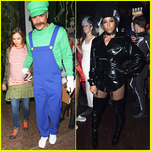 Jessica Alba Dresses as Juno for Kelly Rowland's Costume Couture Party!