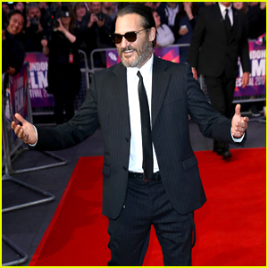Joaquin Phoenix Struts His Stuff at 'You Were Never Really Here' Premiere at BFI London Film Festival 2017