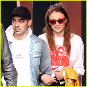 Joe Jonas & Sophie Turner Step Out Together In Madrid