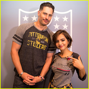 Joe Manganiello & Isabela Moner Get Sporty at the NFL Express Your Style Event!