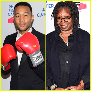 John Legend Joins Whoopi Goldberg at Philly Fights Cancer Fundraiser