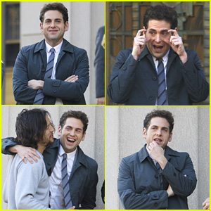 Jonah Hill Makes Lots of Faces While Filming 'Maniac' in NYC!