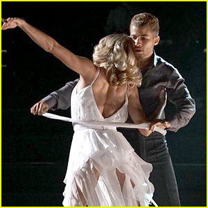 Jordan Fisher Does Emotional Dance to Ed Sheeran Song on 'DWTS' Movie Night (Video)