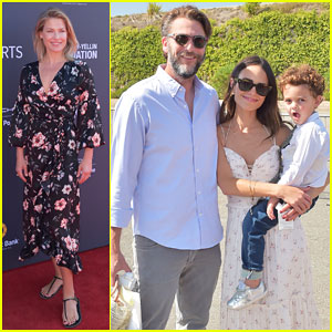 Jordana Brewster Has 'Family Time' at P.S. ARTS' Express Yourself Fundraiser!
