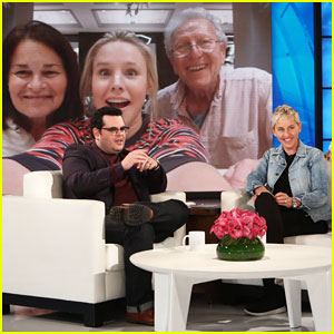 Josh Gad Shares Amazing Story About Kristen Bell Saving His Family from Hurricane on 'Ellen' - Watch!