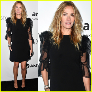 Julia Roberts Honored With Award of Courage at amfAR Gala!