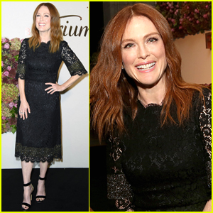 Julianne Moore Attends Lingerie Launch Dinner in Berlin