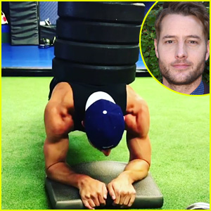 Justin Hartley's Crazy Impressive Workout on His 'Day Off' Is Our Gym Motivation - Watch Now!