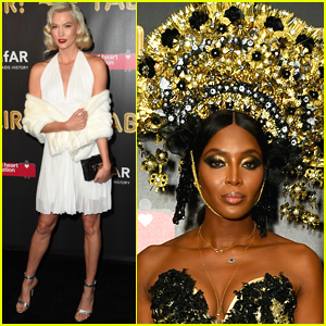 Karlie Kloss Dresses as Marilyn Monroe at a Halloween Party!