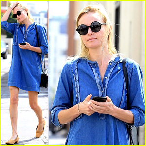 Kate Bosworth Is a Denim Darling for Mid-Week Outing