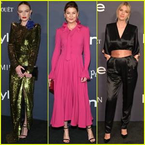 Kate Bosworth, Ellen Pompeo & January Jones Get Chic at InStyle Awards!