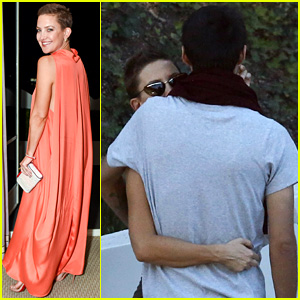 Kate Hudson Glams Up in Valentino After Day Date with Danny Fujikawa
