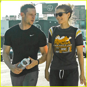 Kate Mara & Jamie Bell Get In a Workout Together!